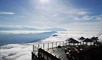 冬の竜王スキーパーク SORAterrace