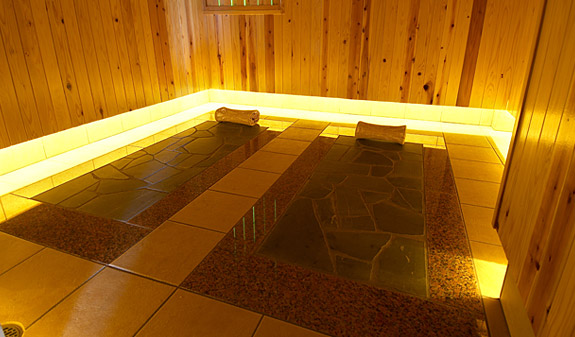 貸切個室岩温浴